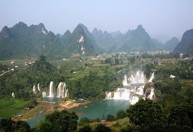Cao Bang et chutes de Ban Gioc