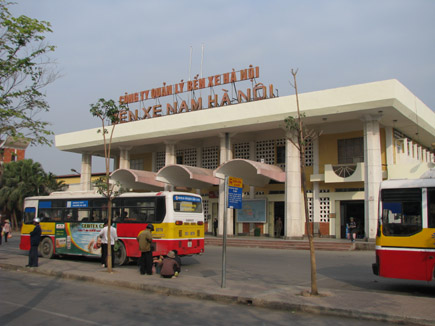 Aller de Hanoi à Ninh Binh - station de Giap Bat