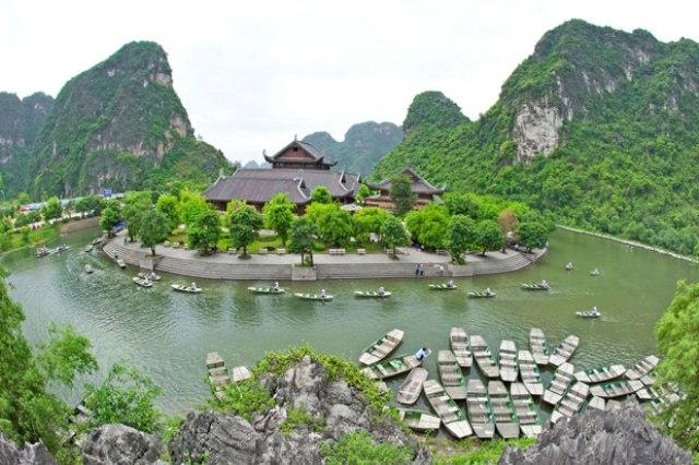 Ninh Binh - baie d'Halong terrestre - Trang An
