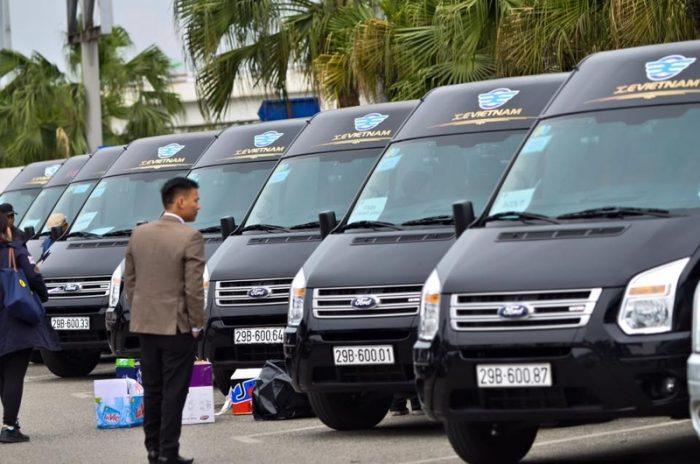 Hanoi baie d'Halong -minibus de luxe
