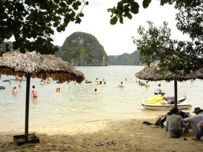 bain de mer Halong