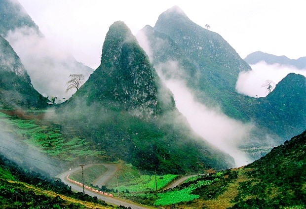 Voyager à Ha Giang, paysage grandiose