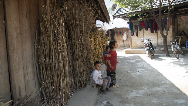 Une maison des Hmong à Ha Giang