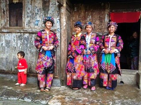 Les Lolo à Ha Giang