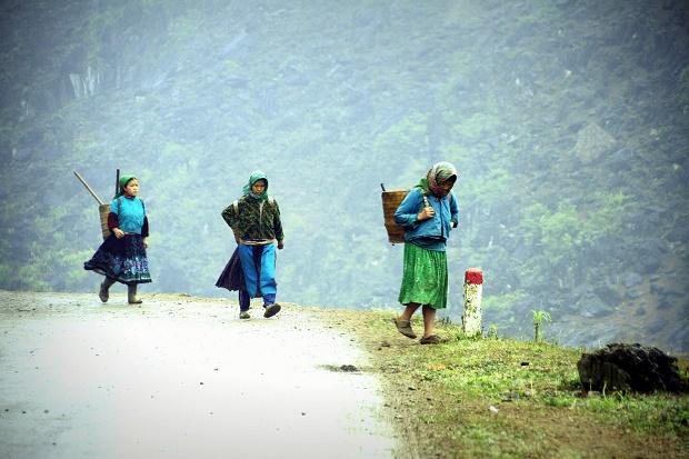 Les femmes Hmong à Ha Giang