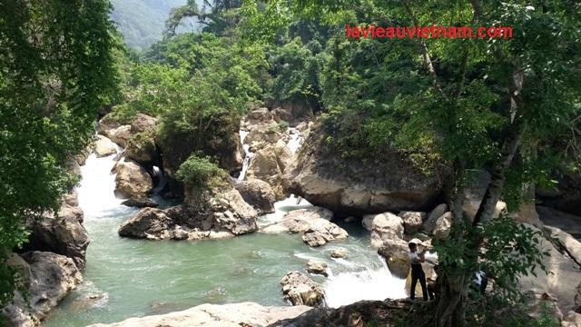Cascade Dau Dau, Ba Be Vietnam