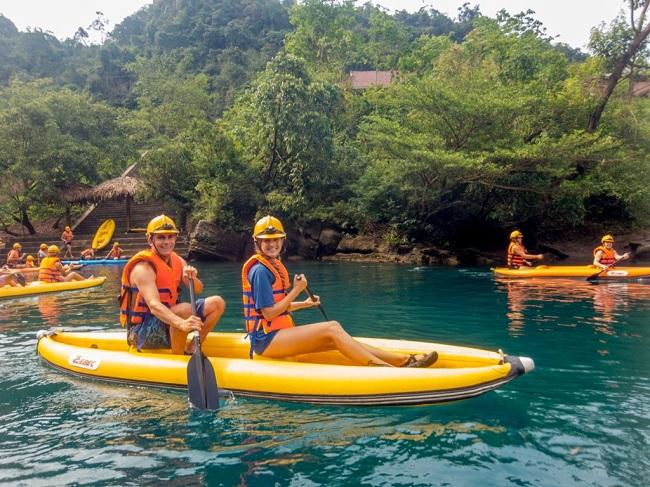Le parc national de Phong Nha Ke Bang - que faire - Song Chay Hang Toi-kayak