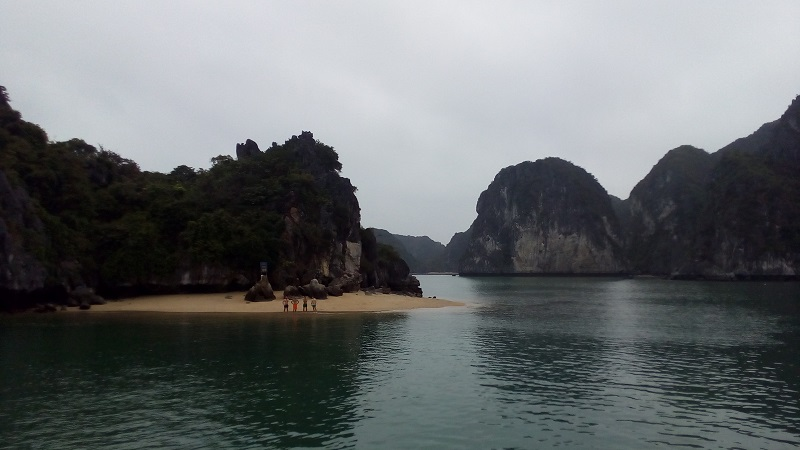 plage Van Boi - pres de l'ile de Cat Ba