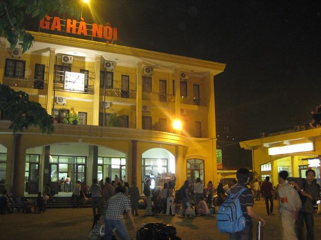 gare Hanoi sur la rue Tran Quy Cap