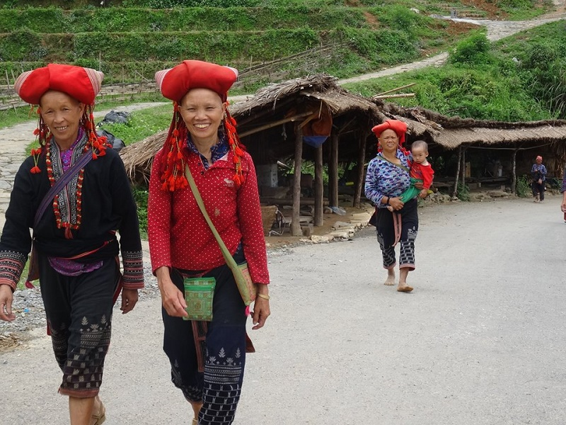 Dao rouges Sapa