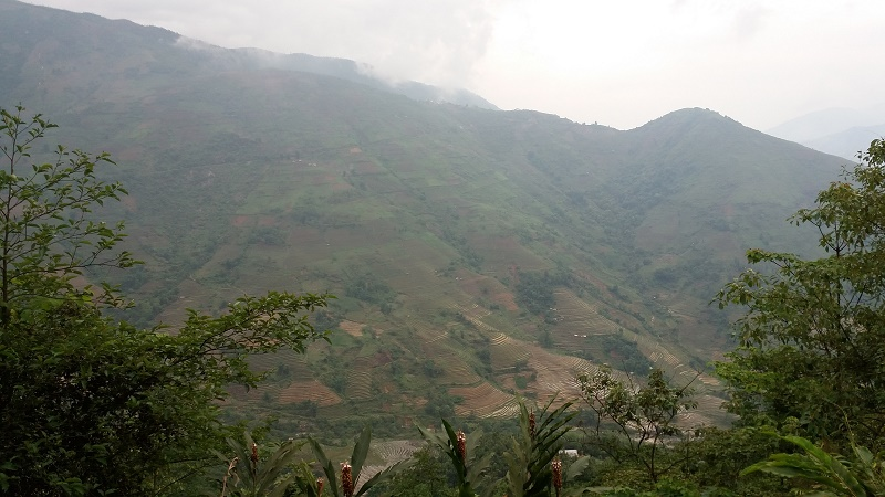 balade à moto dans les villages Sapa1
