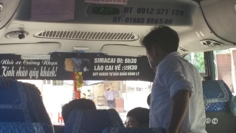 bus Lao Cai Bac Ha 2