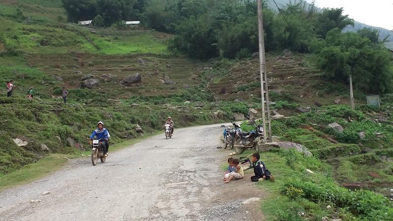 etat route pour des villages Sapa