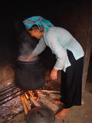 ethnie Tay à Sapa