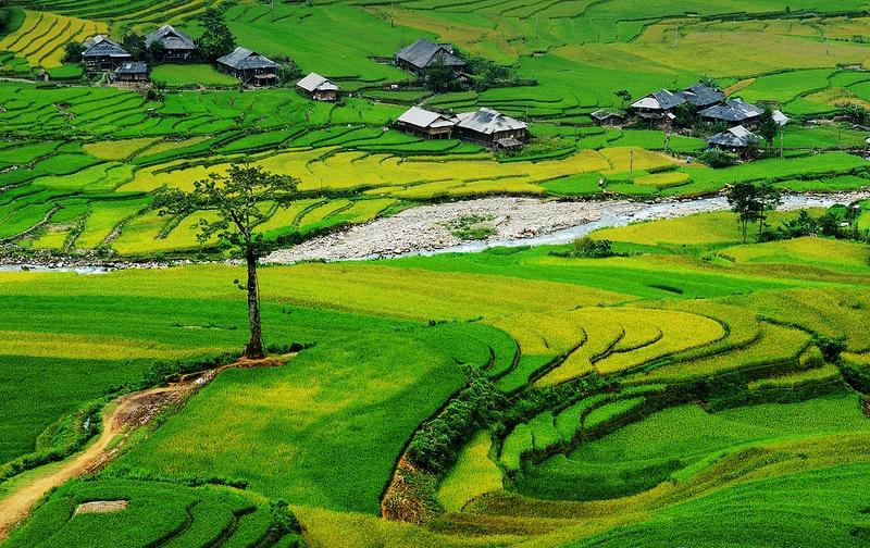 les villages a Tu Le