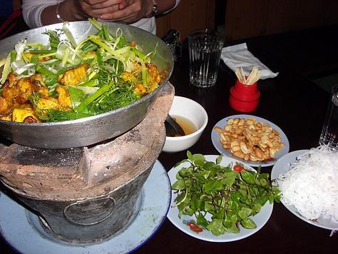 cha ca, specialite de Hanoi