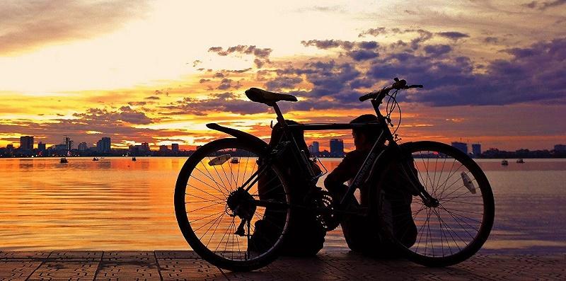 Que faire à Hanoi-coucher-de-soleil-lac-Ouest