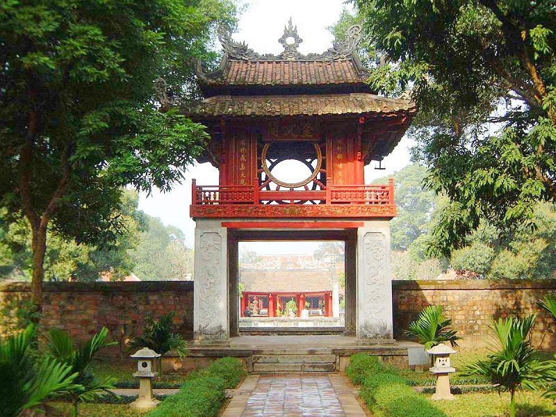 Que faire à Hanoi-temple-litterature-Hanoi