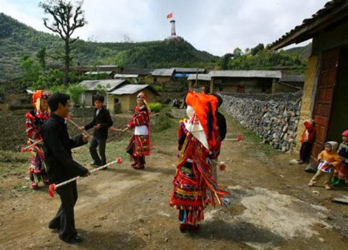 Le village Lolo Chai à Lung Cu, Ha Giang