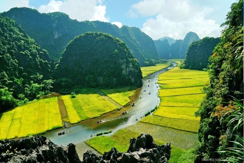 Ninh Binh - baie d'Halong terrestre - Tam Coc