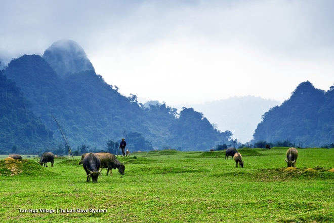 Village de Tan Hoa, province de Quang Binh, où ont été tournés les scènes du film Kong: Skull island