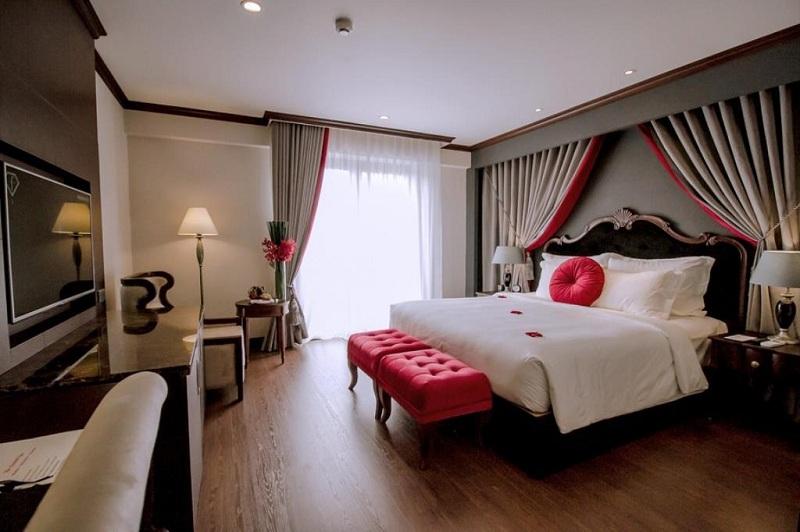 Top 4 les petits hôtels de charme à Hué Vietnam-The-Scarlette-boutique-chambre