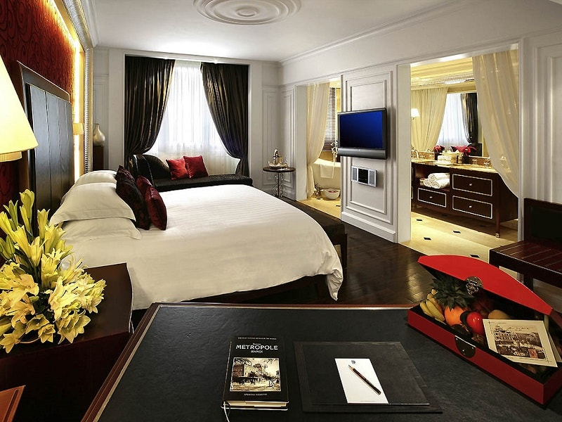 Cinq raisons pour lesquelles tout le monde aime l'hôtel Hanoi Sofitel Legend Metropole - chambre