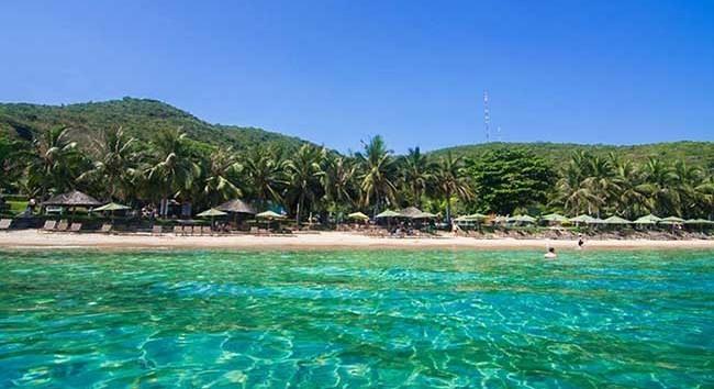Nha Trang Vietnam - ile Hon Tam-plages