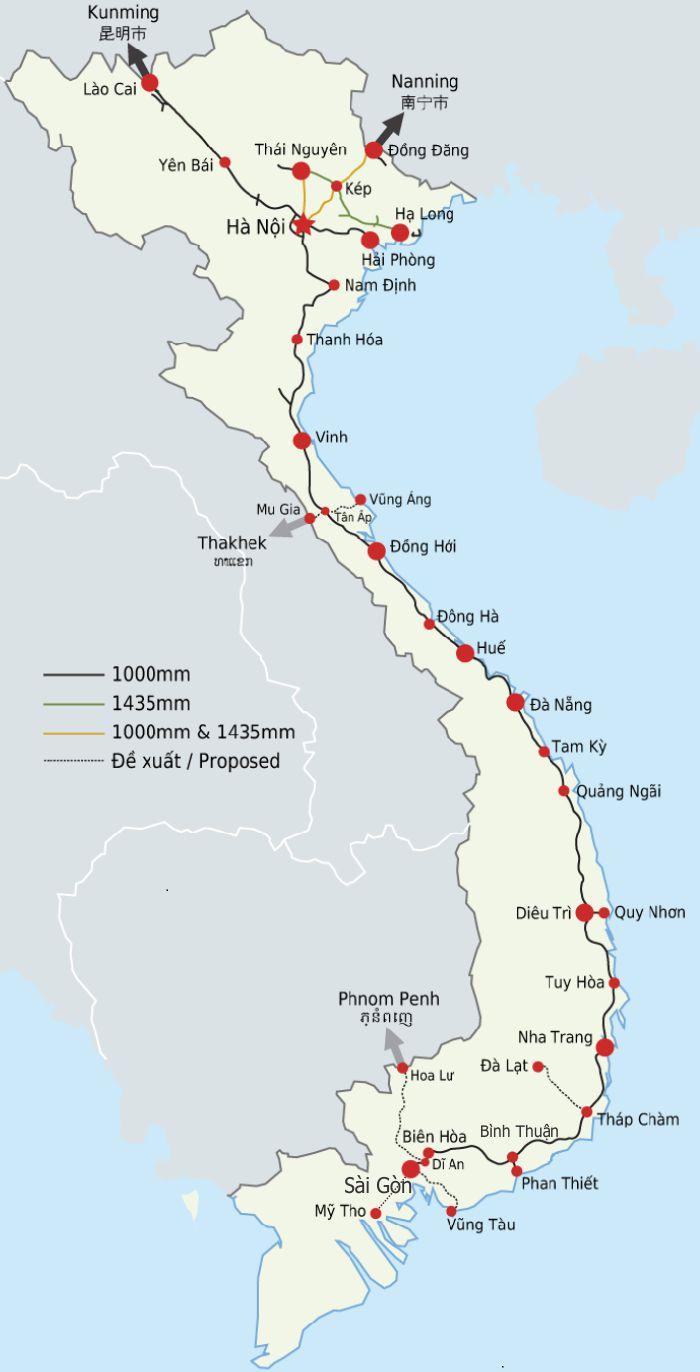 carte-reseau-ferroviaire-Vietnam
