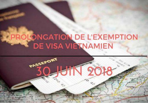 exemption-visa-vietnamien-les-Francais-aout-2018