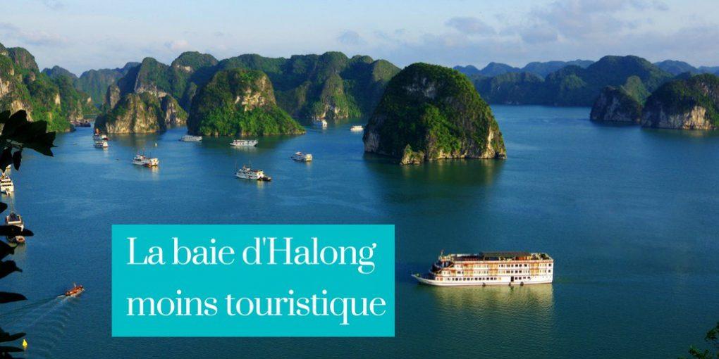 La baie d'Halongmoins touristique-liste-croisieres