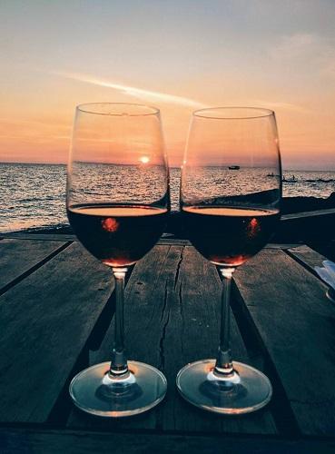 cocktail-Mango-Bay-resort-coucher-soleil