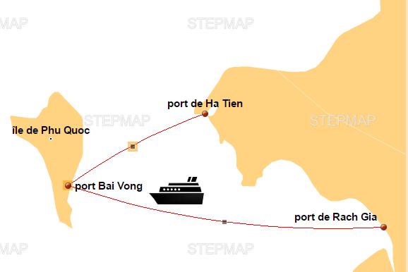 route-entre-Ha-Tien-Rach-Gia-pour-Phu-Quoc-en-bateau