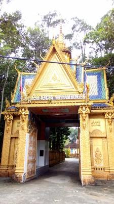 une-pagode-khmère-Tra-Vinh