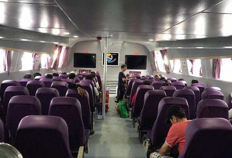 Comment aller a Con Dao? Ho Chi Minh Con Dao-bateau-rapide