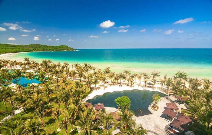 Phu-Quoc-plage-Khem-vue-depuis-hôtel-Marriott