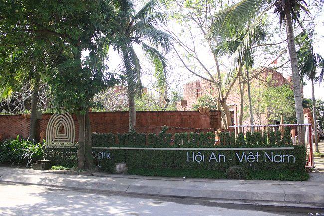 parc en terre cuite Terra Cotta à Hoi An Vietnam