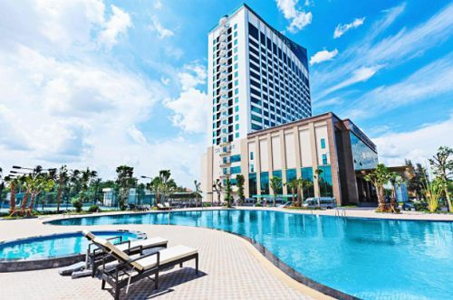 Muong Thanh luxury hotel - piscine