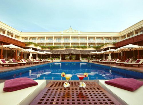 Victoria resort Can Tho - piscine