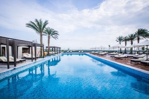 vinpearl hotel can tho - piscine