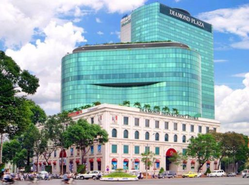 shopping Diamond Plaza Saigon