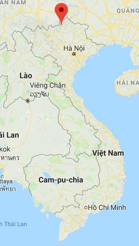 emplacement de Ha Giang