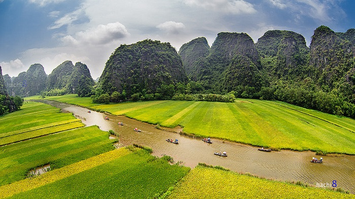 Tam Coc - baie dHalong terrestre (1)