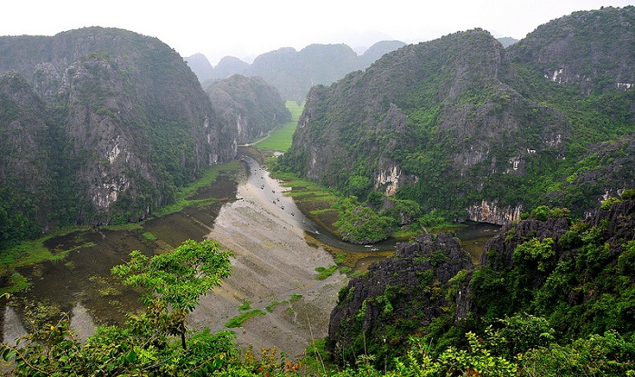 Tam Coc - baie dHalong terrestre